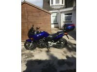 HONDA CBF 600 ABS MODLE IN NICE ROYAL BLUE IN SHOW ROOM CONDITION VERY LOW MILES (7833) £2350