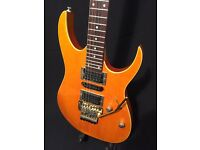 Lovely Ibanez RG470 with Gold hardware. Ready to go