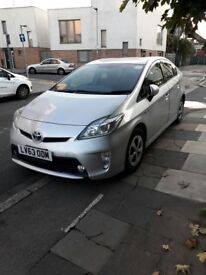 Toyota Prius Hybrid 63 Plate Silver Automatic Neat Clean Excellent Runner Cheap 35000 Millage Only