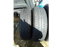 195 65 r15 4 wheels and tyres 1 brand new