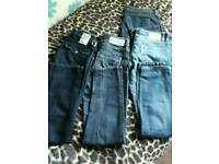 4 pairs of river island jeans