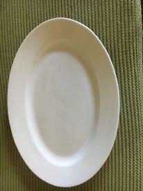Maxwell Williams oval platter.