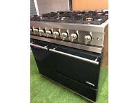 Stunning Lacanche Moderne Range cooker Double oven 90cm width Rare INC VAT