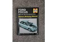 Brand new Haynes manual Ford focus