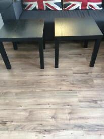 Tables black