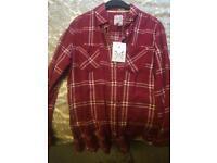 Medium plaid ladies shirt