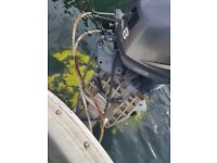Yamaha f8 highthrust longshaft outboard