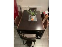 Dining table and chair set / dining room furniture