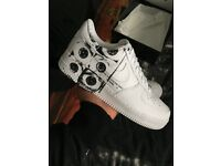 Supreme x CDG air force 1 UK 9.5 brand new comes with receipt