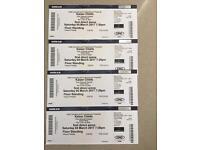 Kaiser chiefs tickets - Leeds - Standing