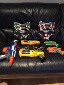 Nerf Guns, target vest and bullets