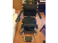 Compact Motorised collapsible accessible wheelchair