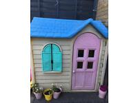 REDUCED Little tikes Wendy house