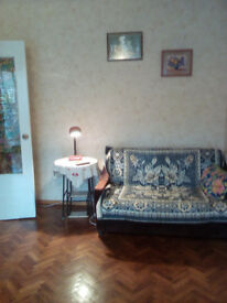 Spacious two bedroom flat for sale in Chisinau, capital of Moldova