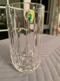 """Waterford Crystal 6"""" Vase boxed"""