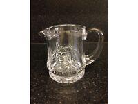 Edinburgh crystal star of Edinburgh water jug