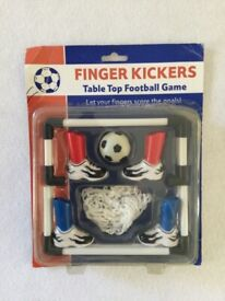 Finger Kickers Table Top Football Game