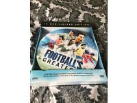 Limited edition Footballs Greatest DVD's