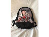 Betty Boop backpack