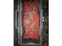 Screw fixing bolts plug diy job lot