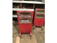Halogen Heater Red Rads