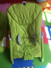 Chicco Baby Bouncer and rocker foldable