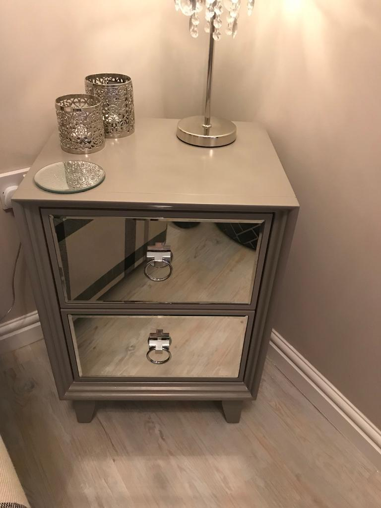 low priced 4e645 63a6e Next mirrored bedside cabinets   in Halifax, West Yorkshire   Gumtree