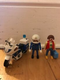 Playmobil police motorbike IN WEST HAMPSTEAD