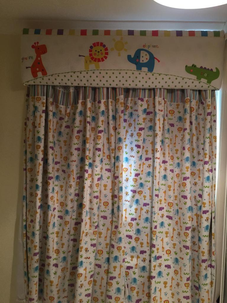 Curtains And Dressing For Kids Room