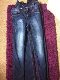 Next boys jeans aged 15