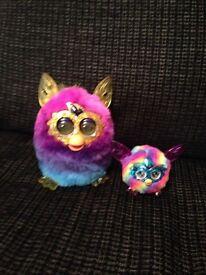 Furby Boom Crystal & Rainbow Furbling