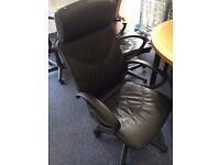 office furniture office leather chairs