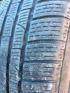 245/50/18 Pirelli runflat hiver 6/32