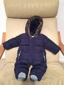 Baby snowsuit.
