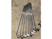 Left handed second hand golf clubs