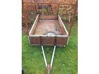 8x4 TRAILER WITH HIGH TAILGATE FRAME £395