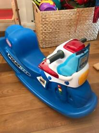 Little Tikes Police Cycle Sounds Rocker
