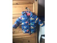 Boys coat- aged 12-18 months