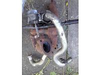 vauxhall astra 1700 turbo diesel . turbo