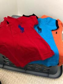 Boys polo tops