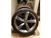 Audi vw alloys 20 inch reps