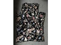 Ladies Floral Jumpsuit- Size 14