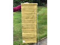 5x Roman blinds unused originally for bay window