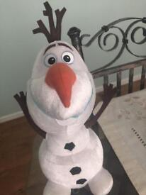 Talking & dancing Disney Olaf