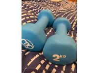2kg Weights