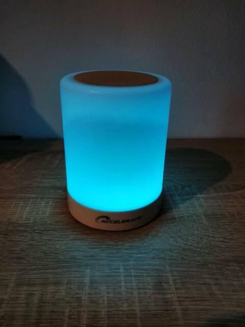 accelerate touchlight bluetooth speaker