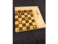 John Lewis Chess and Draughts set