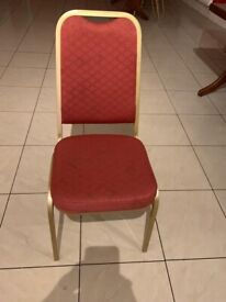 Bolero Sq Banqueting Chairs ( 45 pieces available)