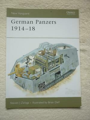 Osprey New Vanguard Series No.127: German Panzers 1914-18