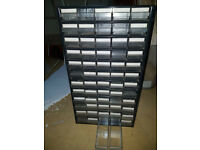 Metal Multi Drawer Storage / Compartment units 48 & 60 Drawer